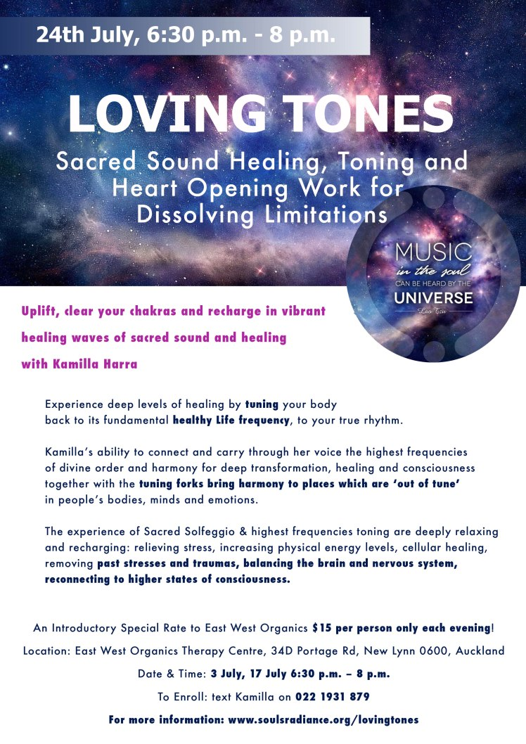 Loving Tones poster