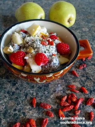 Raw Beauty Chia Breakfast