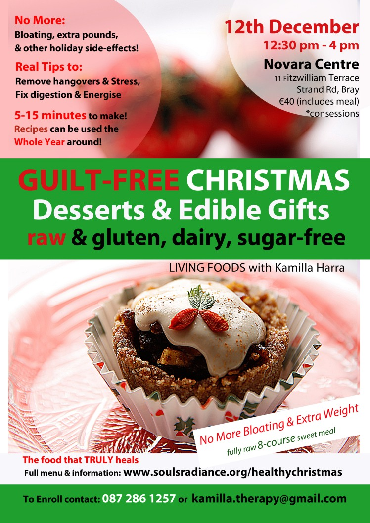 Guilt-Free Xmas & Edible Gifts Workshop 15